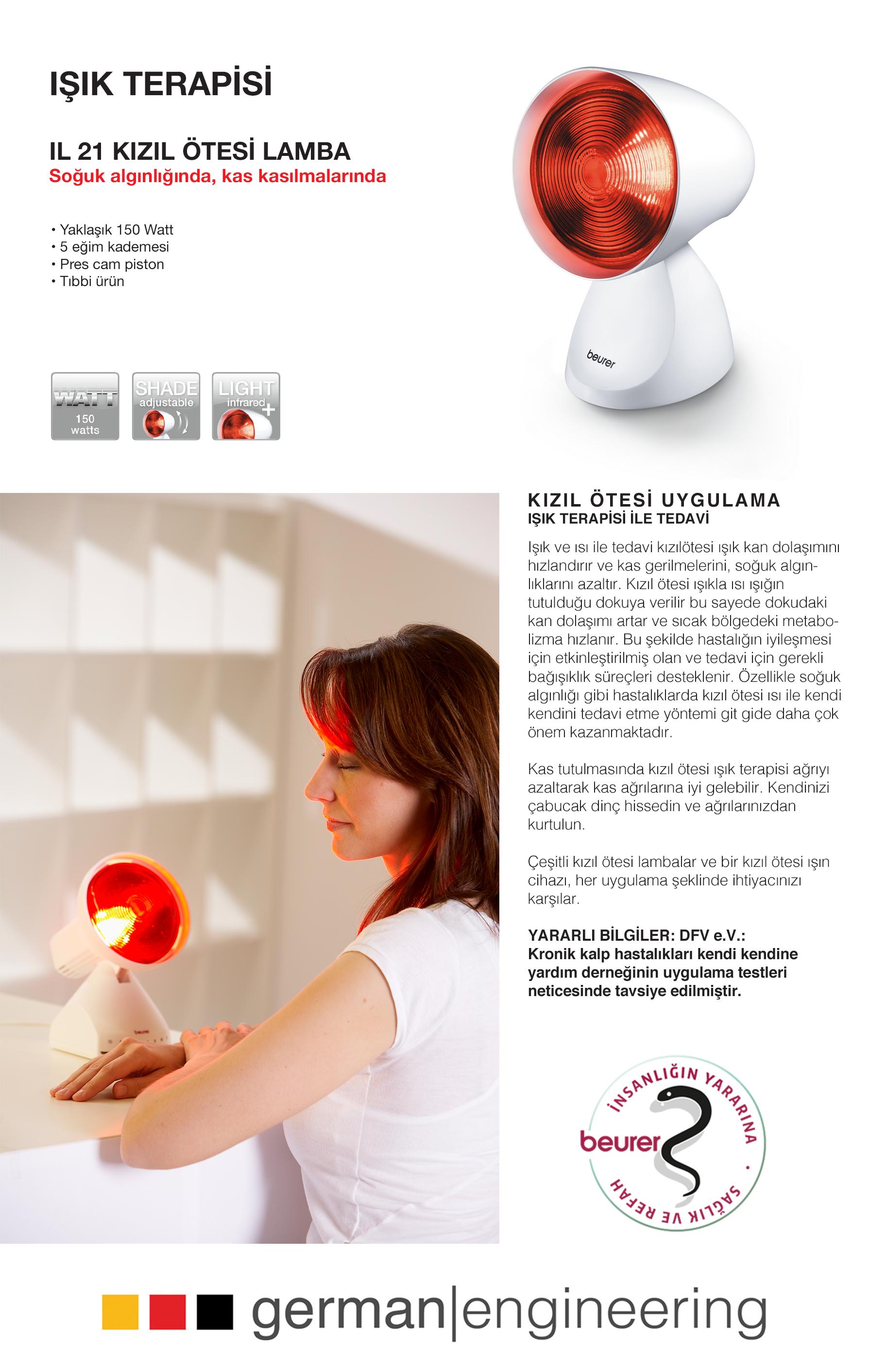 Beurer IL 21 Kızılötesi Lamba