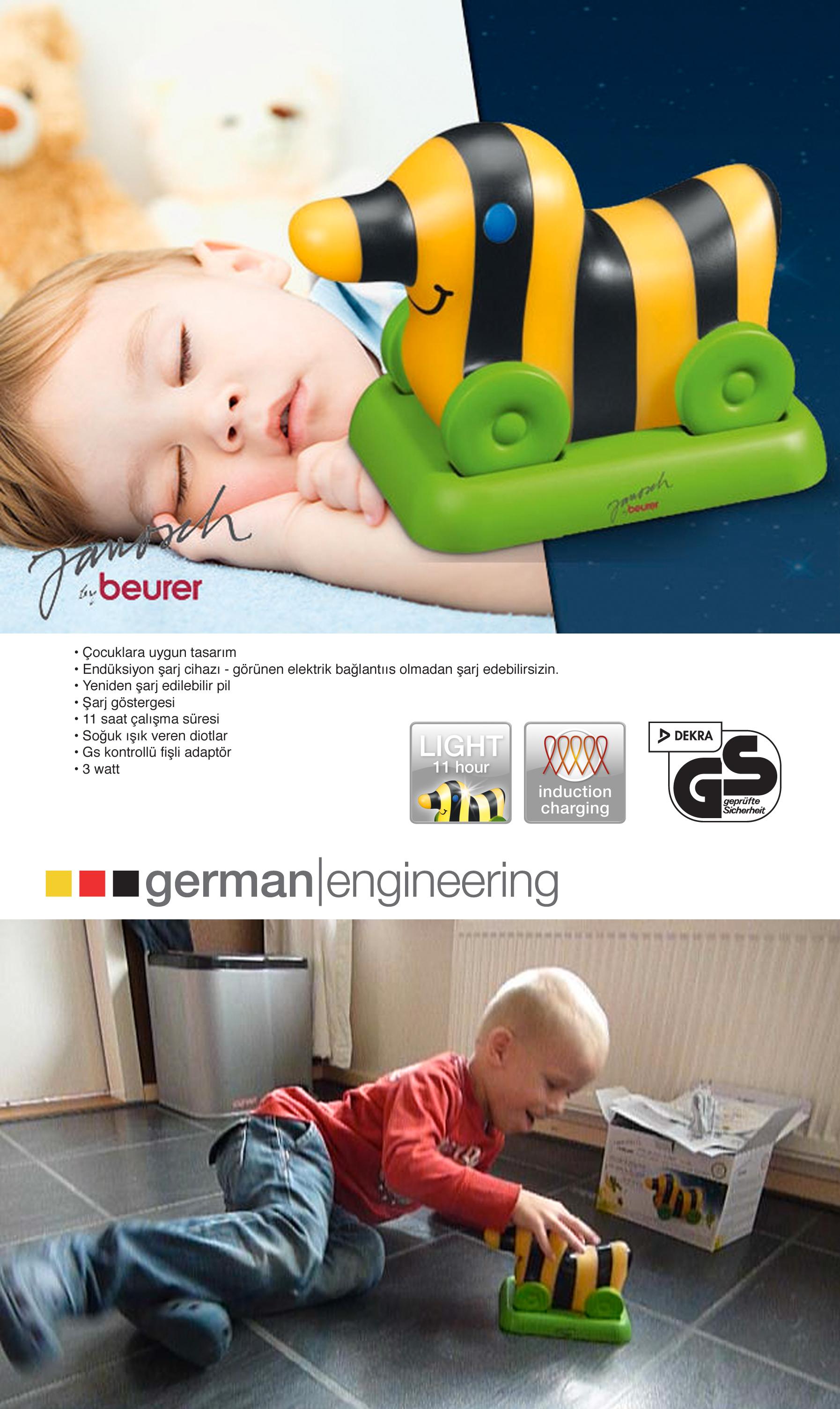 Beurer JBY 32 Çocuk Gece Işığı